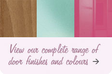 View our complete range of door finishes and colours